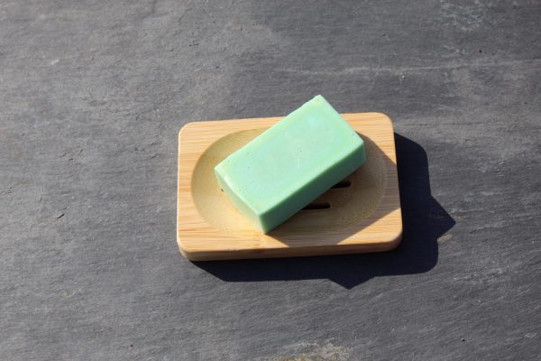 Bamboo soap dish - lucky langer