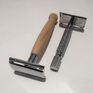 Wood Steel Safety Razors